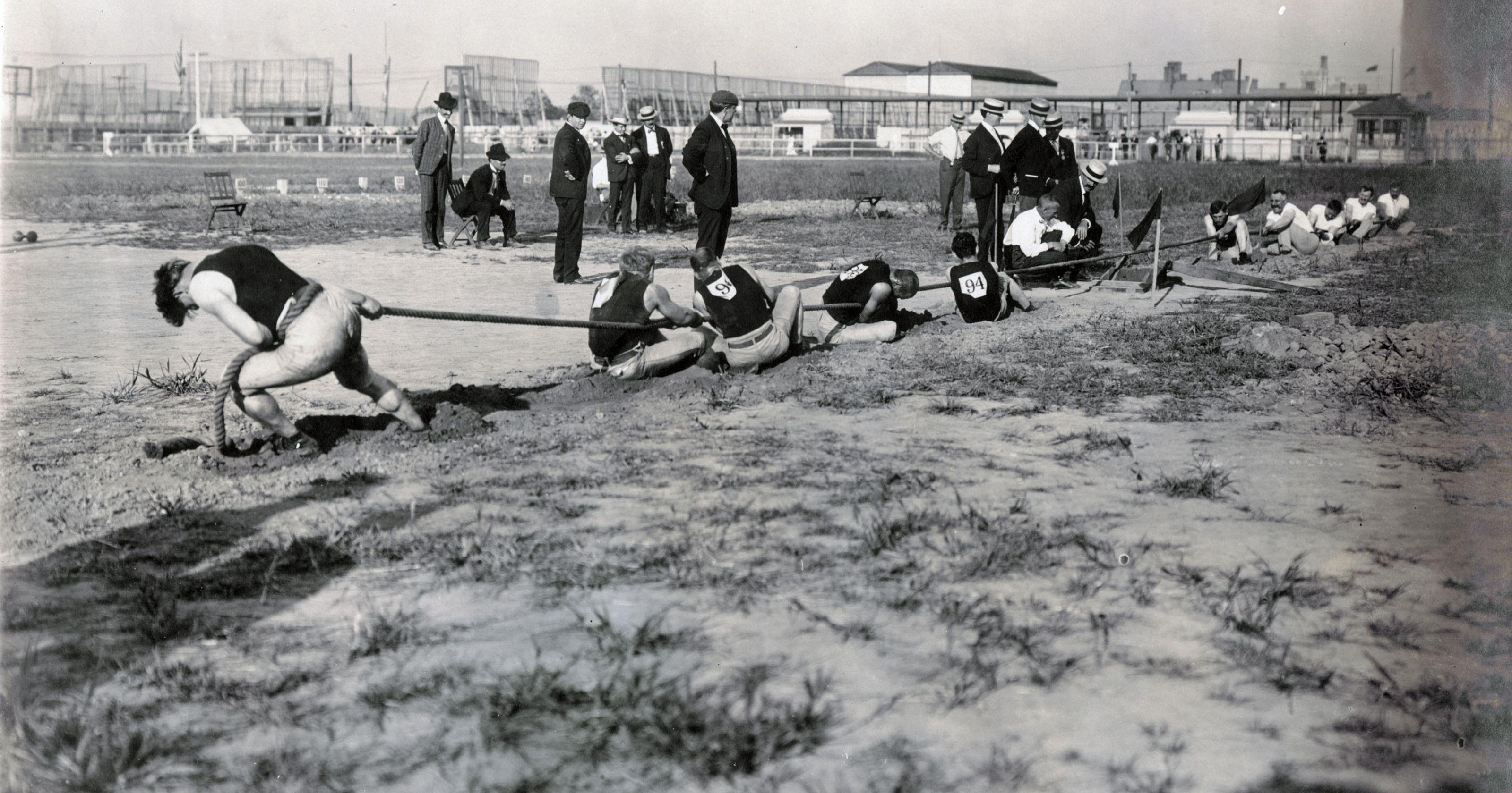 Tug-of-War – strange olympic sport
