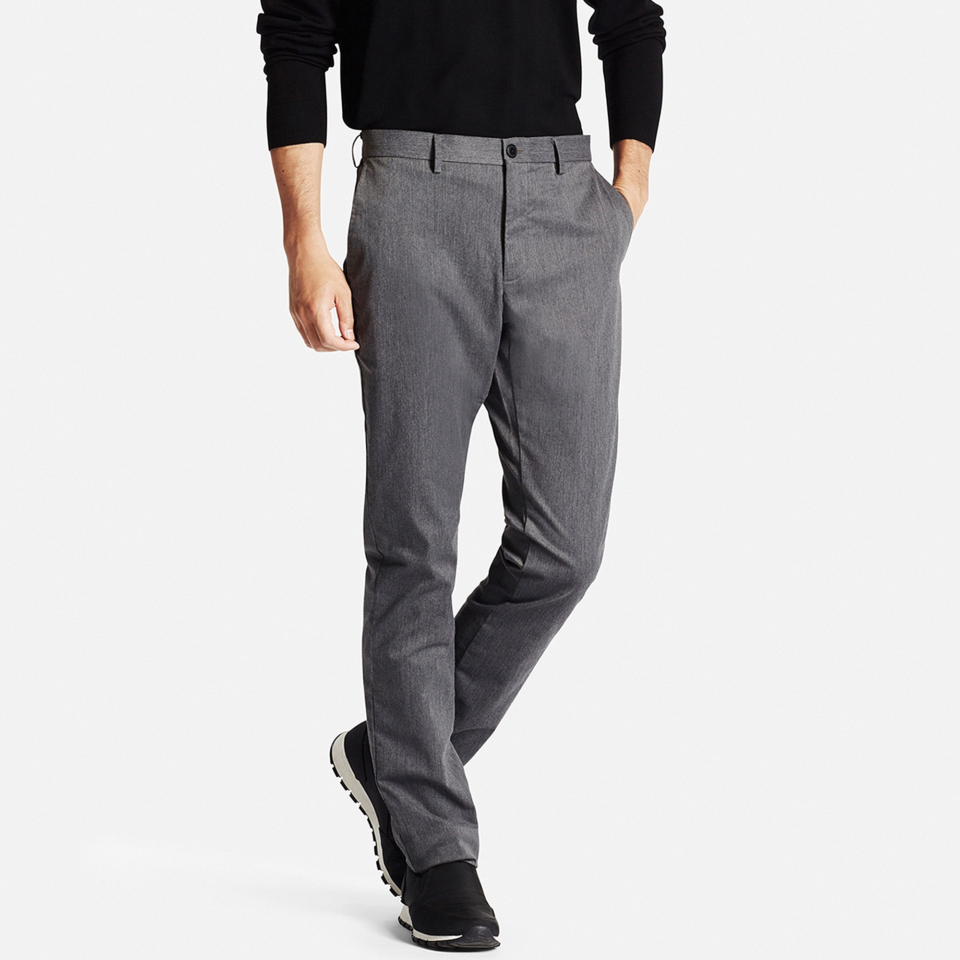 Uniqlo Slim Fit Chinos - summer dress pants for men