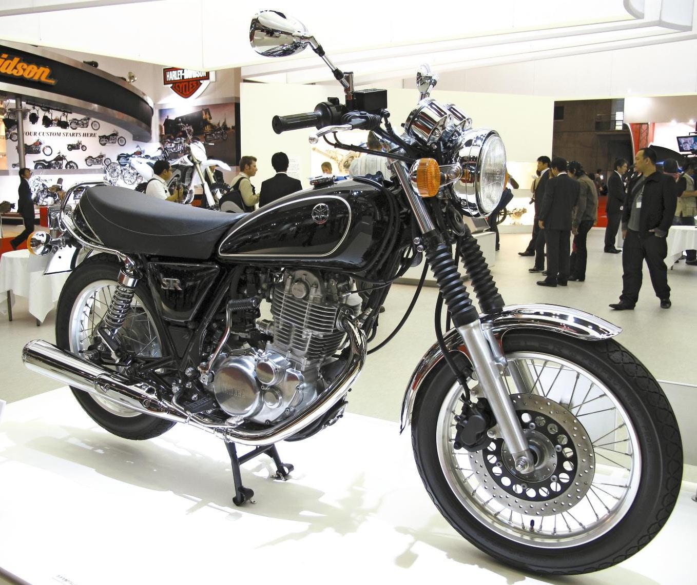 Yamaha SR-400 – best import motorcycle
