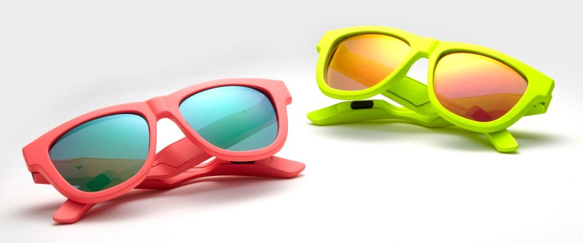 zungle sunglasses use bone induction audio playback to double as headphones Bone Induction Technology Turns Sunglasses Into Headphone Hybrid Accessories