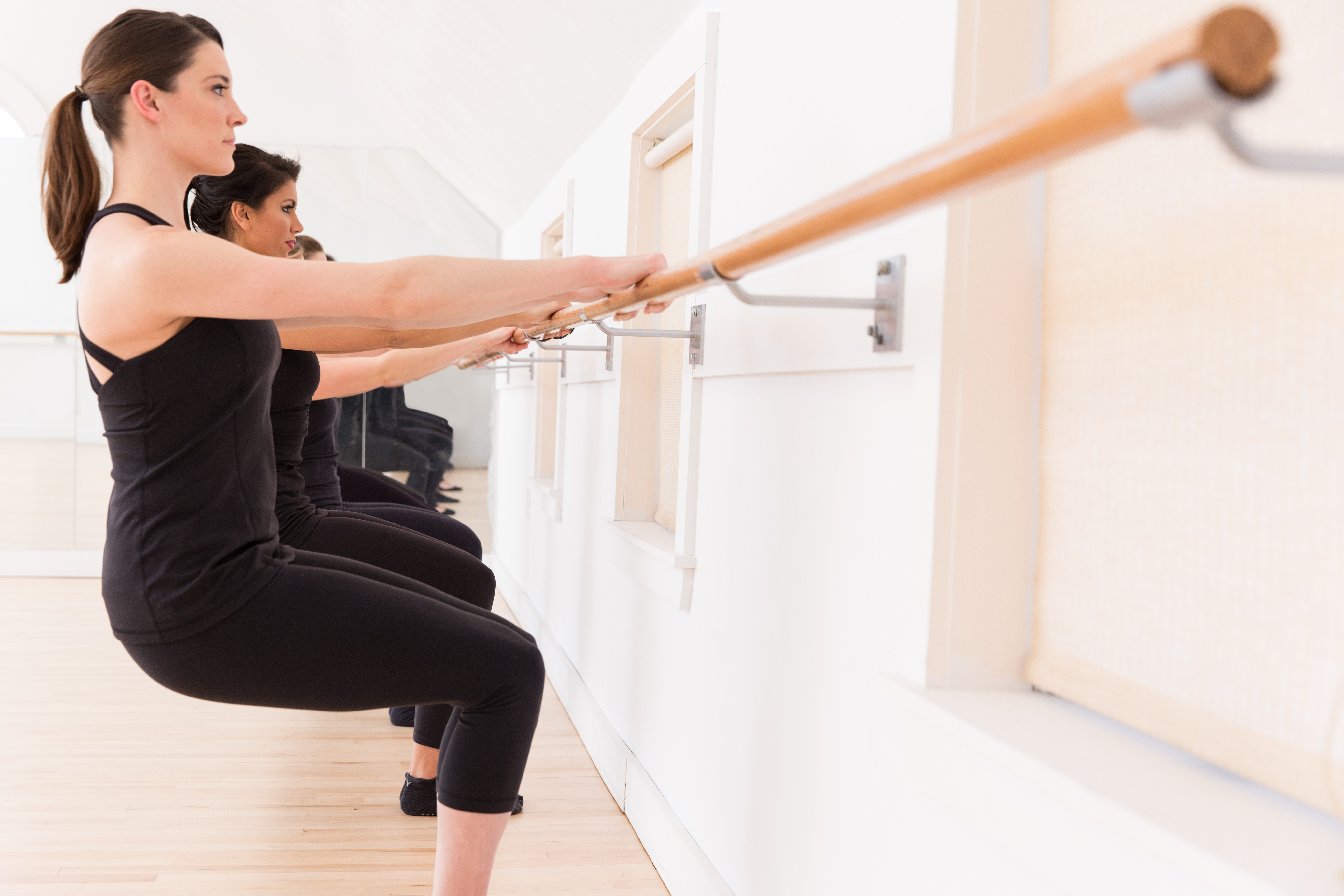 Barre-Based Indoor Exercises
