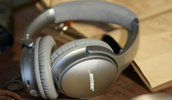 Bose QuietComfort 35 hi fi headphones 345x200 Listening Pleasure: 17 Best Hi Fi Headphones for Audiophiles