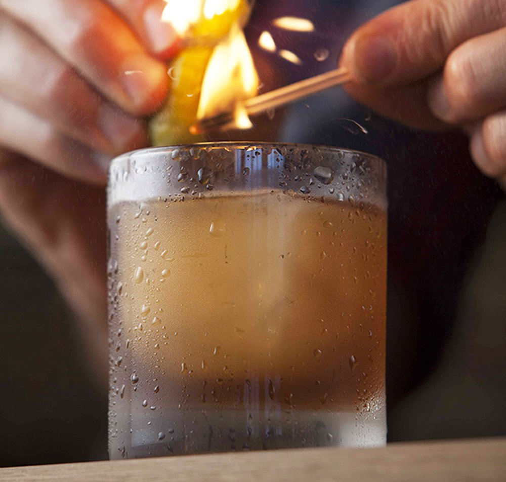 Campfire Sling – autumn cocktail