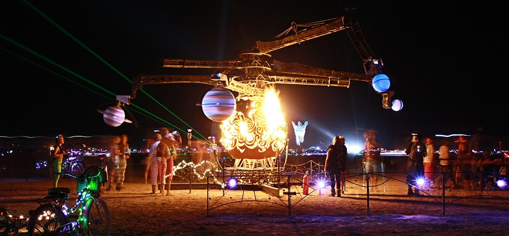 Celestial Mechanica by Jessika Welz – art of burning man 2016
