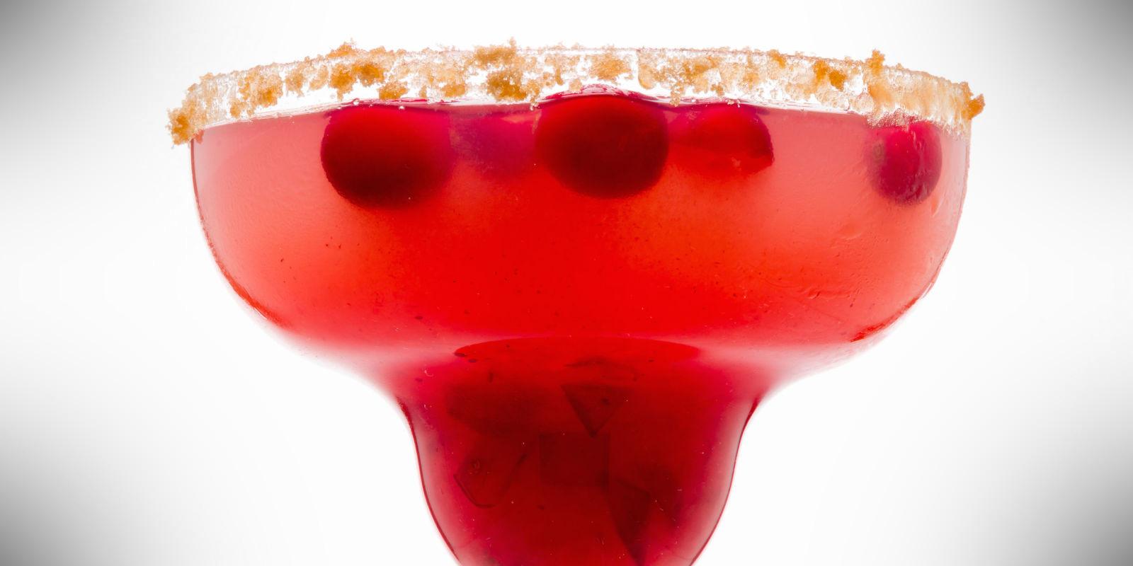 Cranberry Sauce Margarita – autumn cocktail