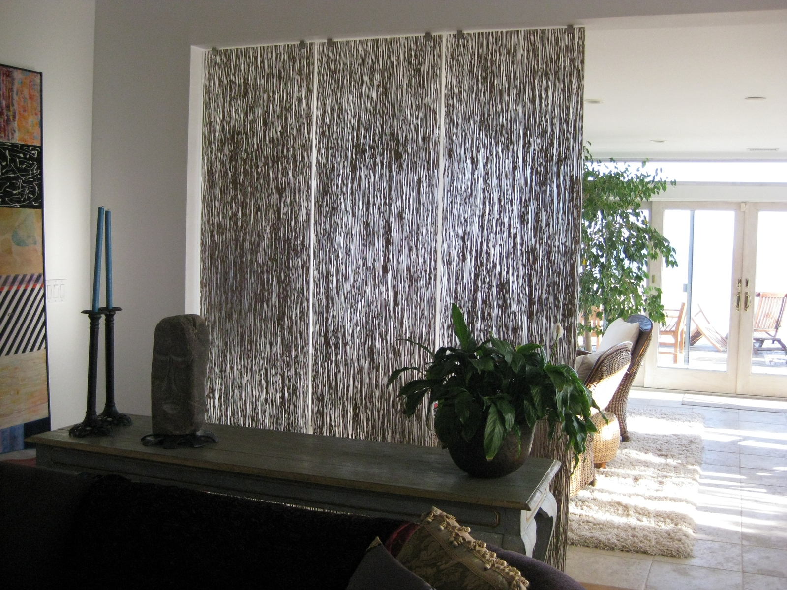 curtain-room-dividers-decorating-small-houses