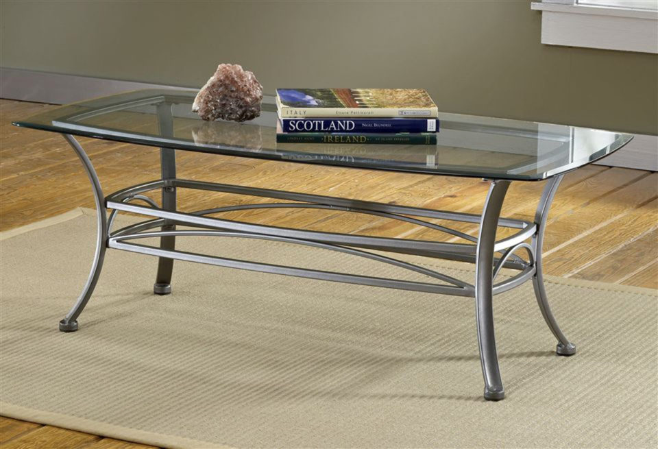Glass Coffee Table decorating small spaces 960x655 19 Design and Decorating Tips for Small Spaces