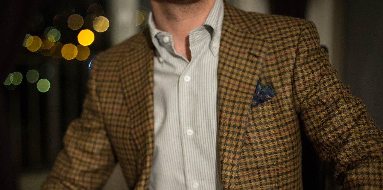 Going Tieless – button down collar
