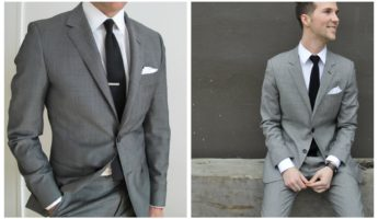 Gray suit colors 345x200 Picking The Right Suit Colors To Go With Your Skin