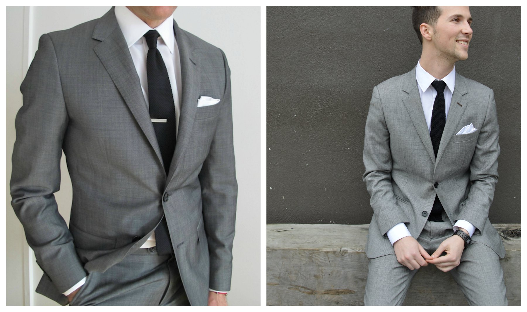 Gray suit colors