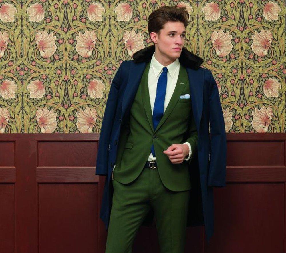 Green suit colors