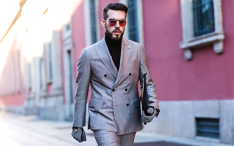 Style Guide How To Wear A Gray Suit With Brown Shoes
