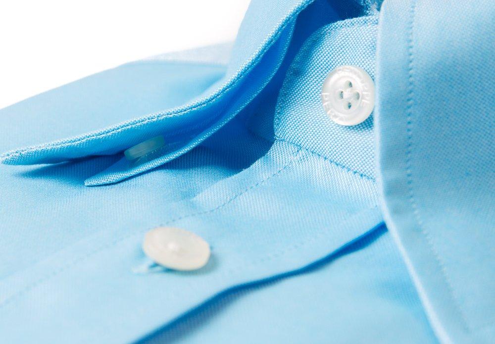 Hidden Button Down Shirt Collar