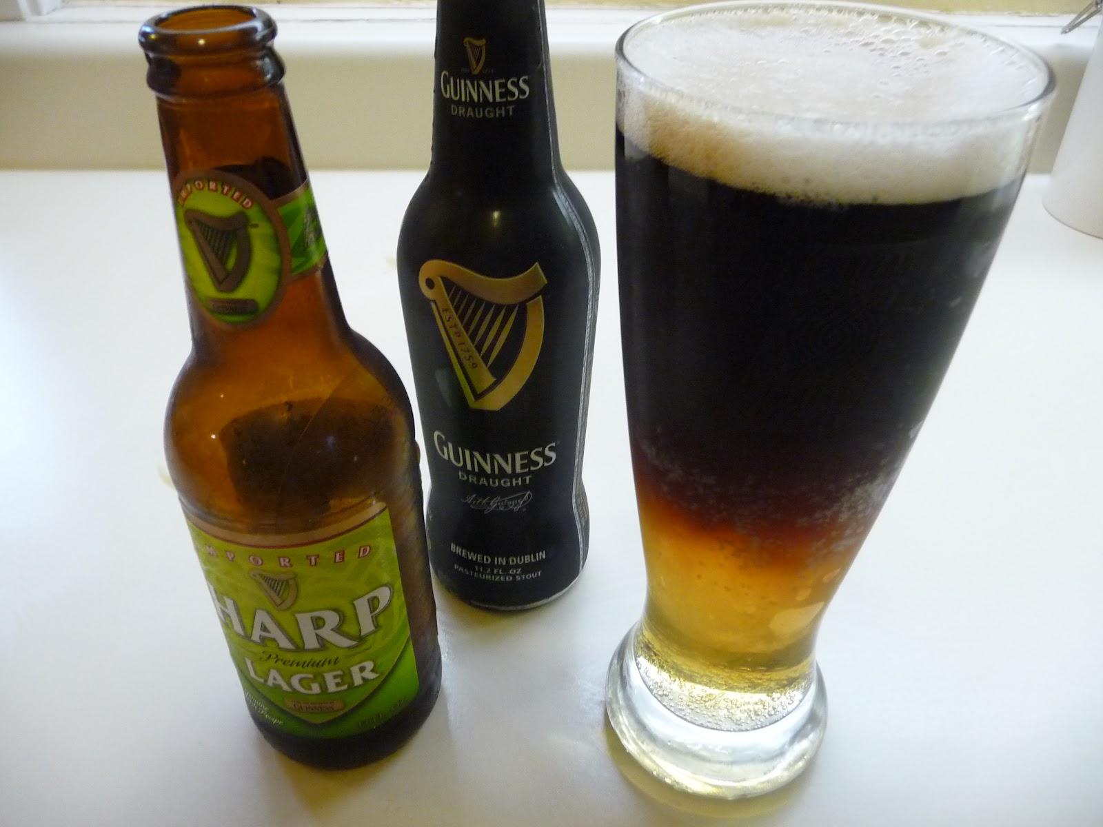 Irish Black And Tan – autumn cocktail