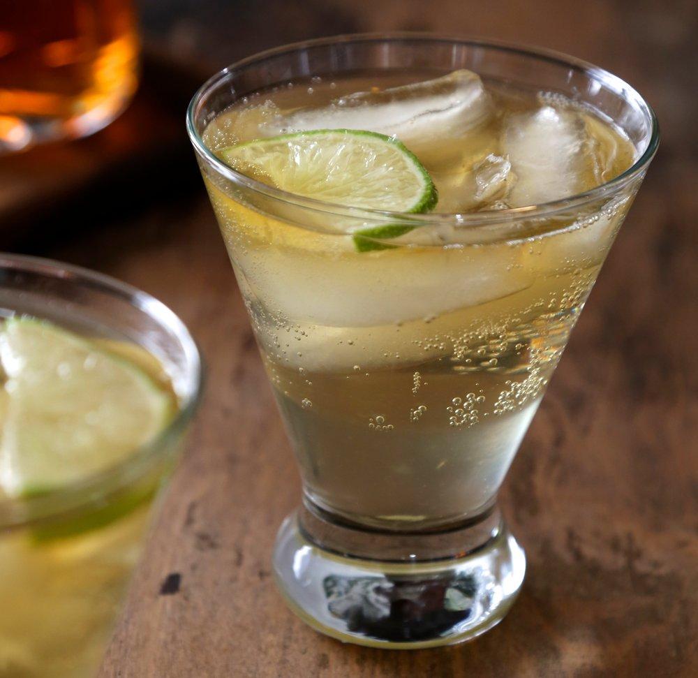 Jack & Ginger – autumn cocktail