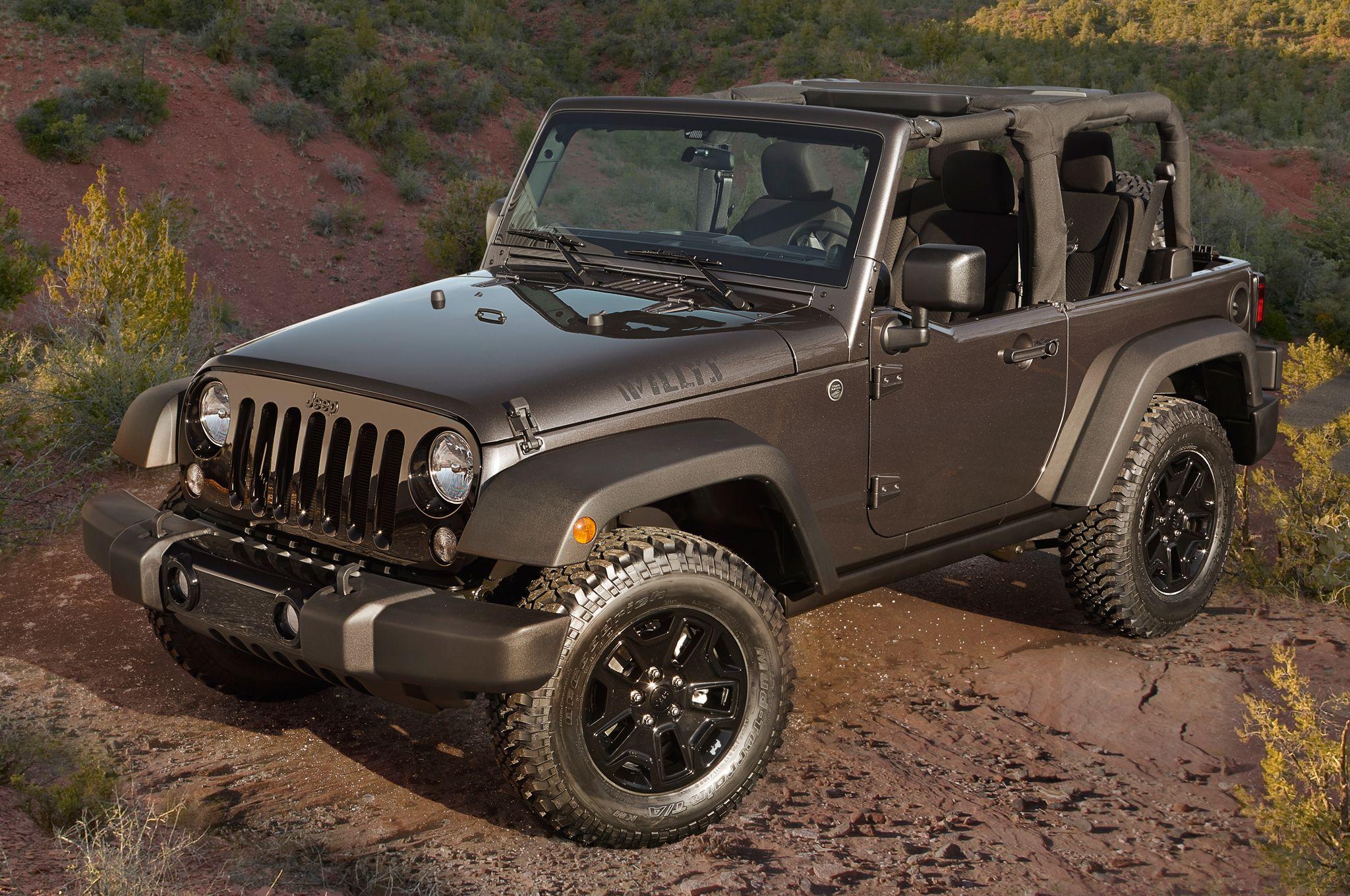 Jeep Wrangler Sport – new car under $25,000
