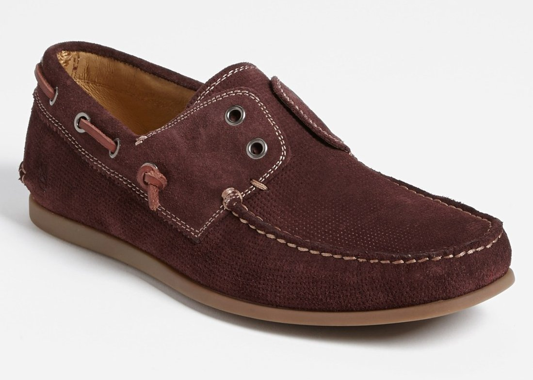 John Varvatos Schooner – boat shoes that are business casual
