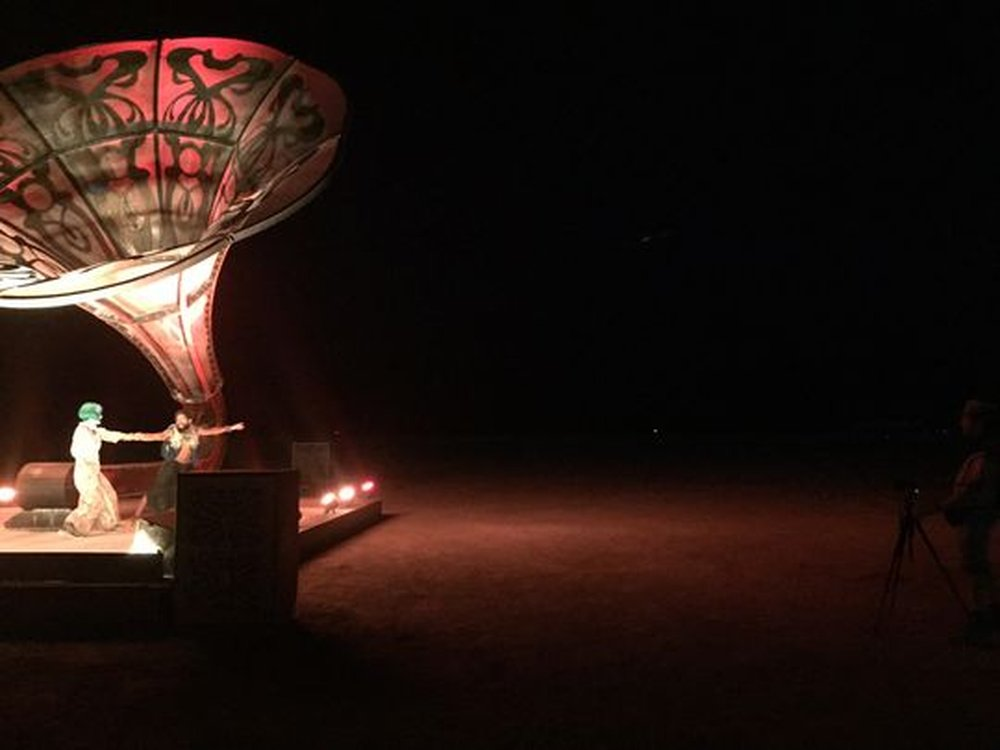 La Victrola by Tim Bremner – art of burning man 2016