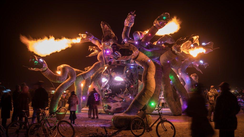 Medusa Madness by Reared In Steel, LLC – art of burning man 2016