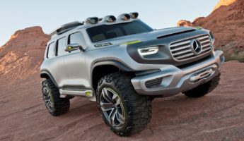 Mercedes GLB concept car 345x200 13 Concept Cars, Future Cars, and Impossible Cars We Need