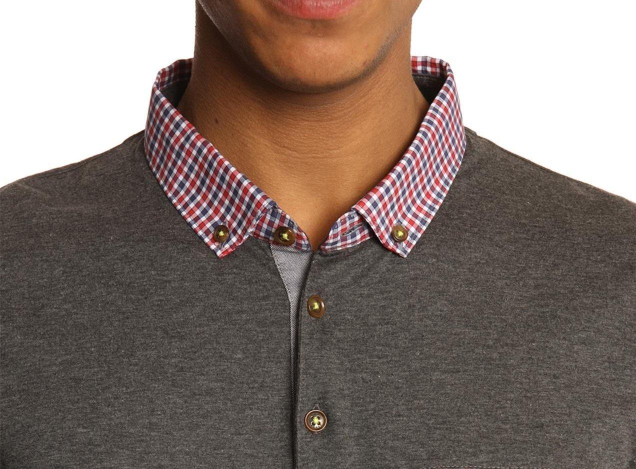 Modern Polo Shirt – button down collar