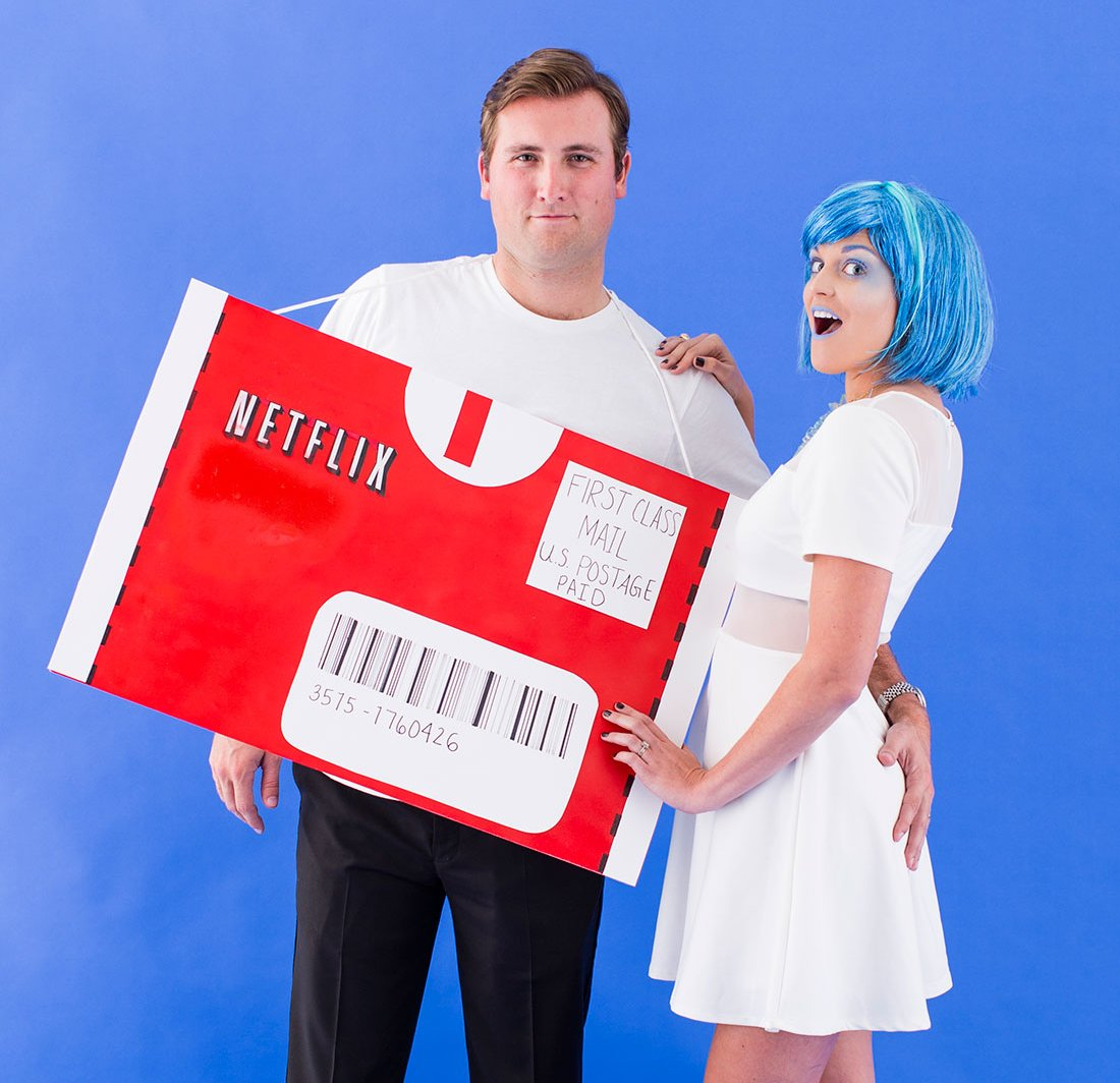 Netflix and Chill – couples costume