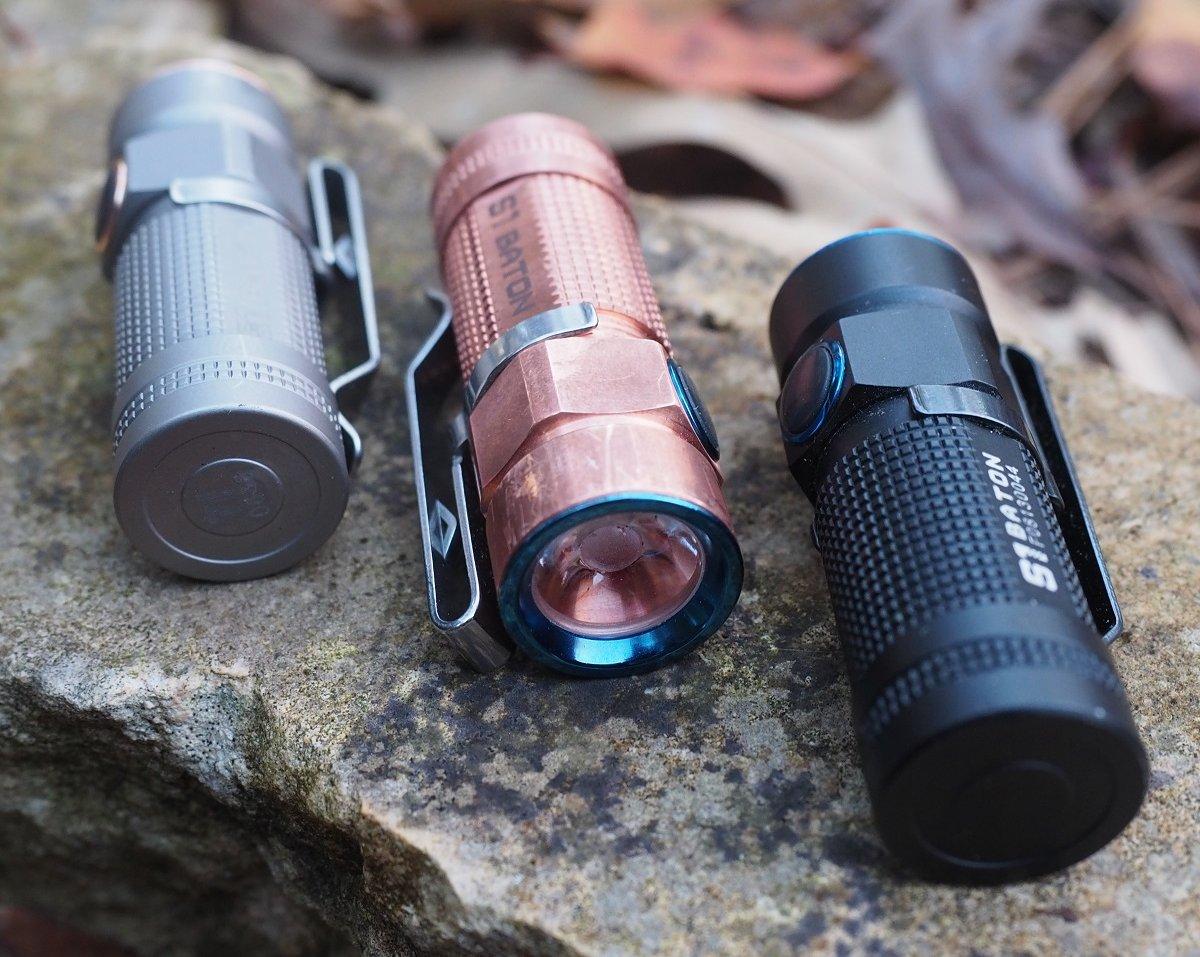 Olight S1 baton – edc flashlight