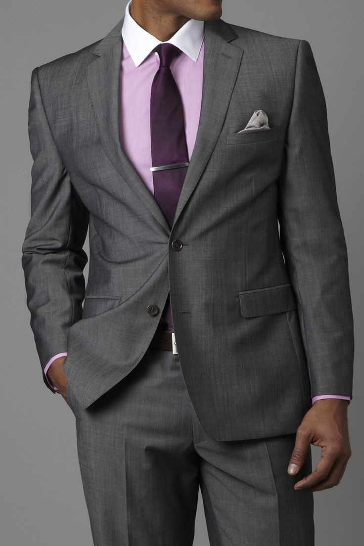 pastel-shirt-gray-suit-brown-shoes