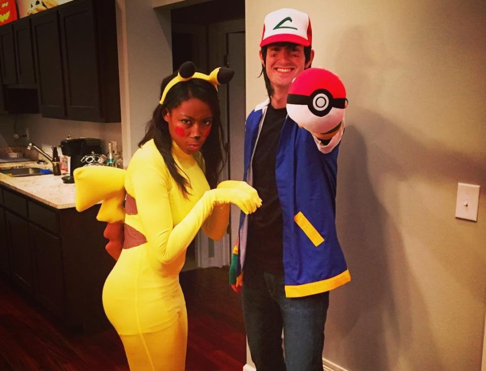 View in gallery Pokemon Go - couples costume  sc 1 st  TheCoolist & 21 Couples Costumes That Are Great (or At Least Tolerable) for Halloween