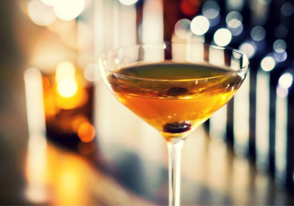 Raising Manhattan – autumn cocktail