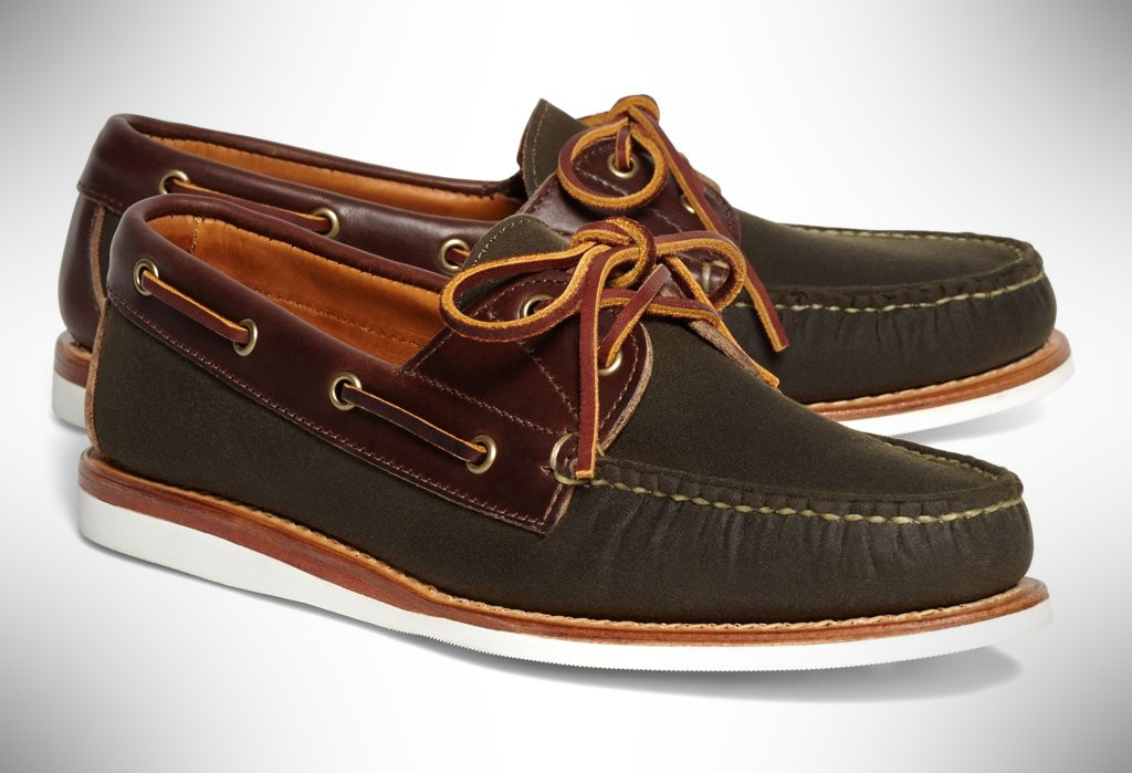 Rancourt & Co. Waxed Canvas – boat shoes that are business casual