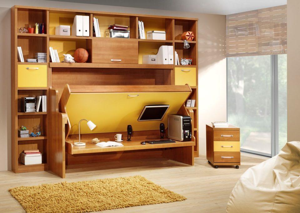 Deep Built In Shelves Living Room