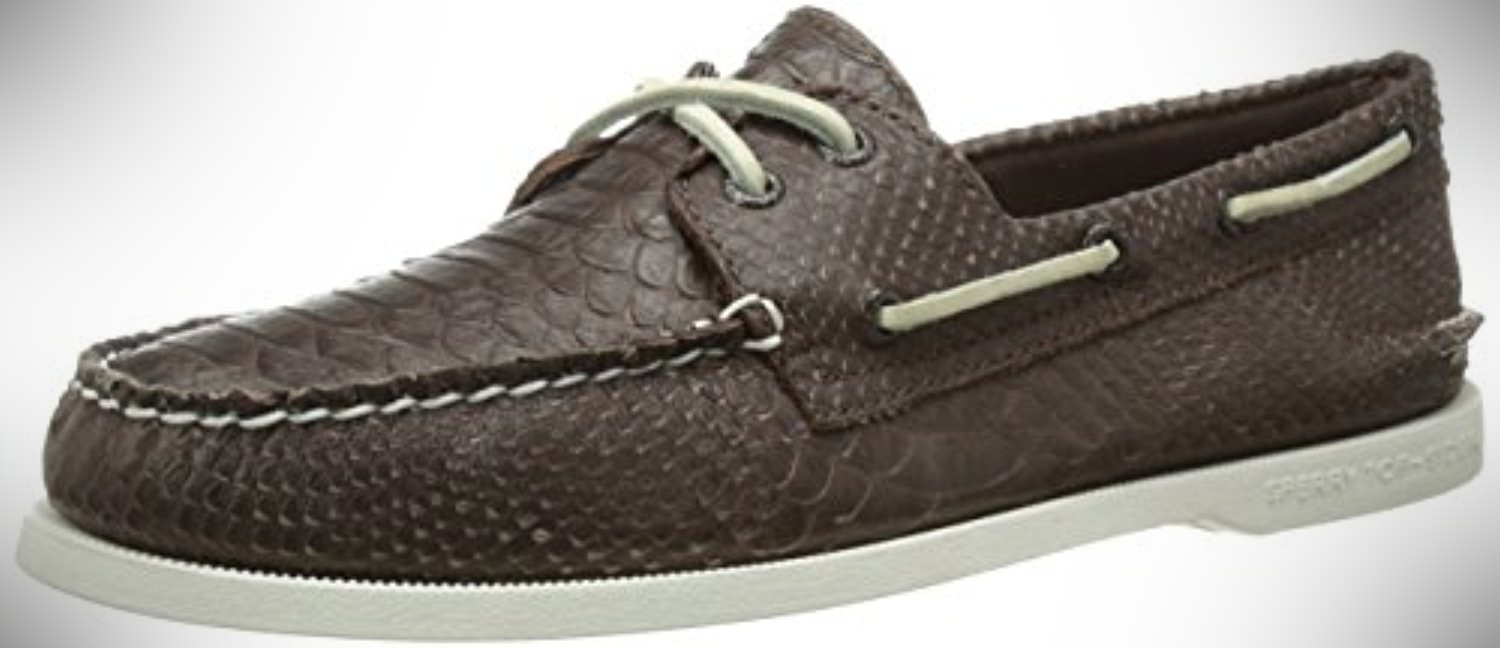 Sperry Top-Sider Men's AO Two-Eye Python – boat shoes that are business casual