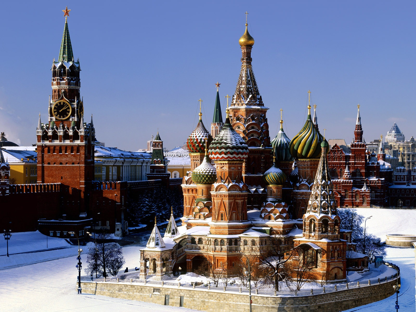 St. Basil's Cathedral – beautiful religious site