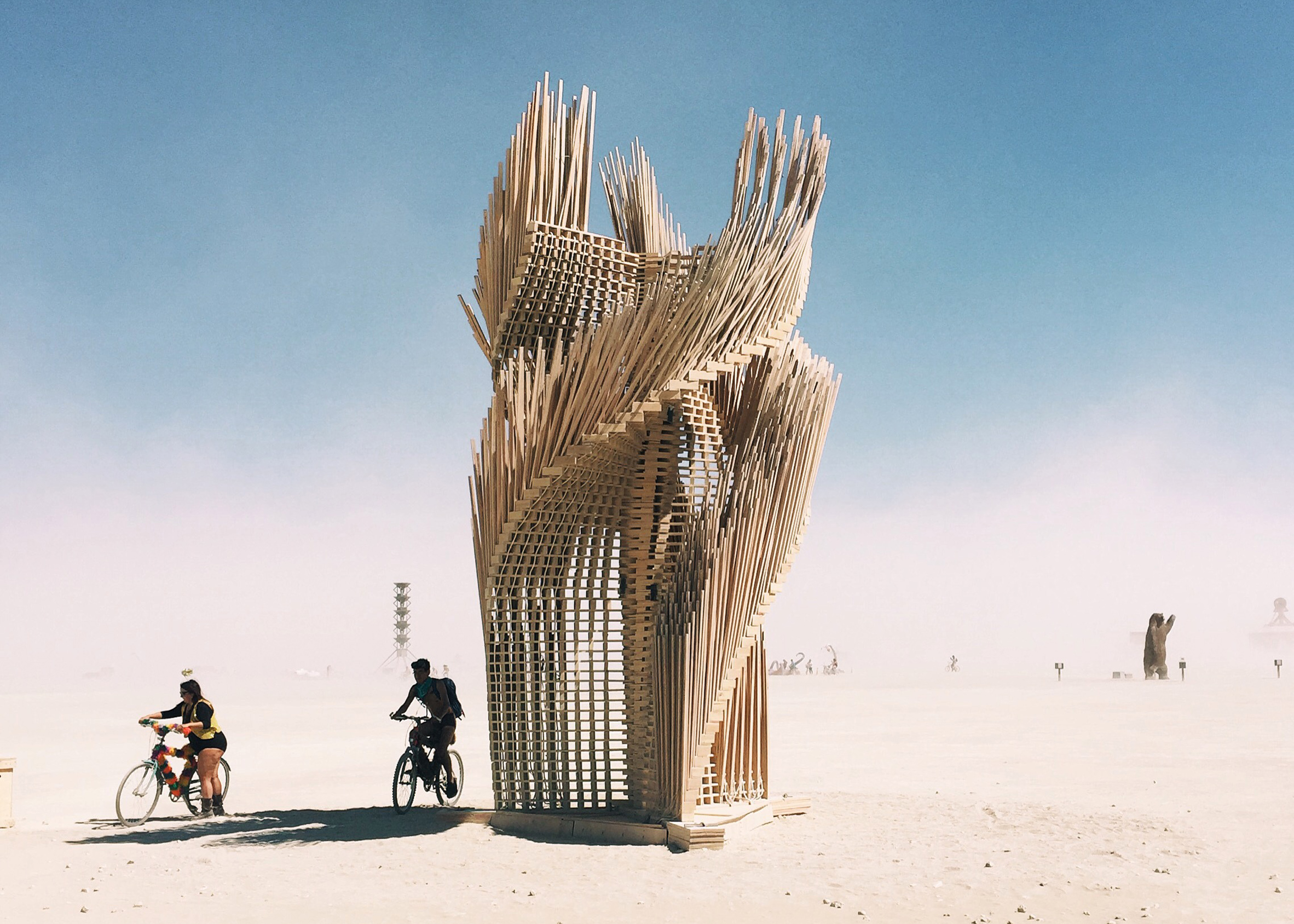 Tangential Dreams by Arthur Mamou-Mani – art of burning man 2016