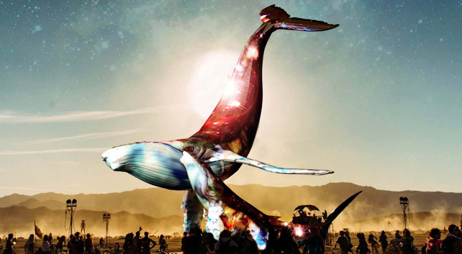 The Space Whale by The Pier Group with Matthew Schultz – art of burning man 2016