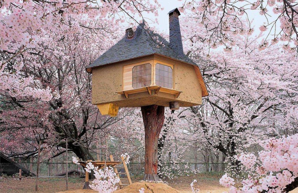 Tiny Tetsu Tree House
