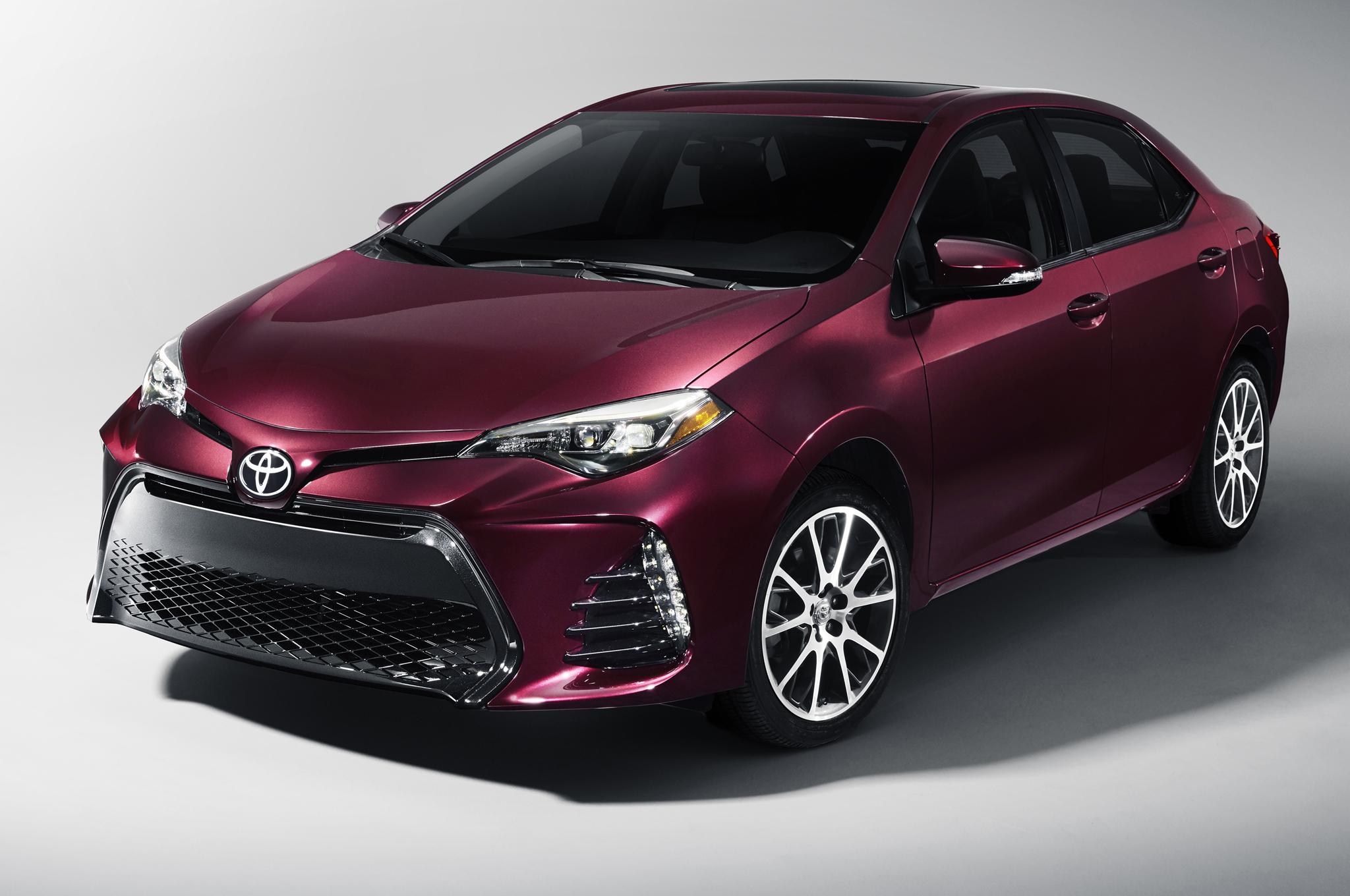 Toyota Corolla LE – new car under $25,000