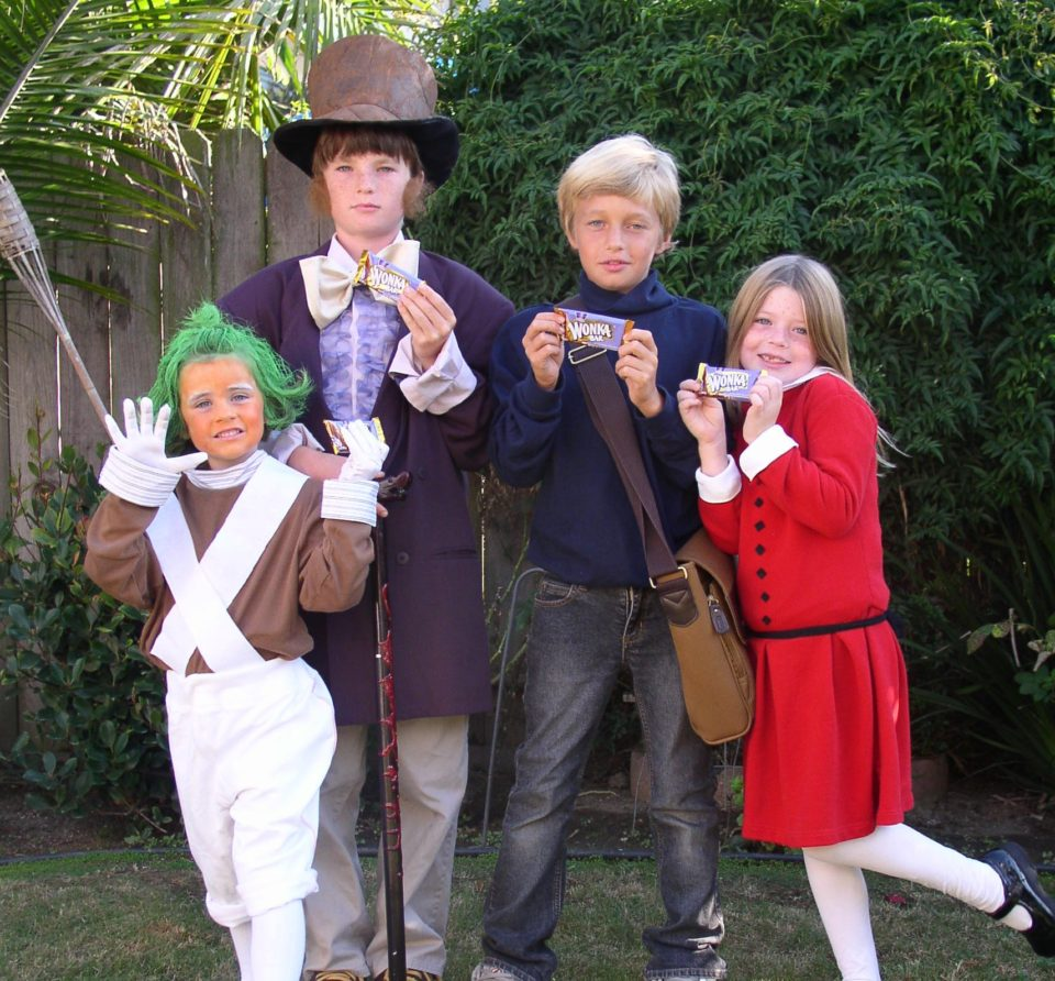 Willy Wonka - couples costume