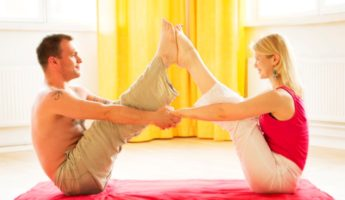 Yoga indoor exercises 345x200 13 Indoor Exercises For Workouts With Minimal Equipment