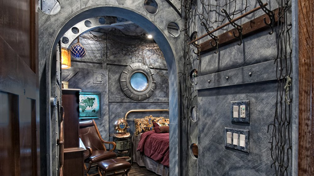 20,000 Leagues Under the Sea Nautilus – house inspired by movie