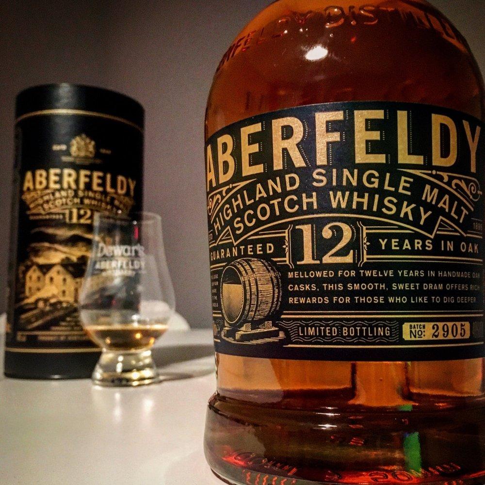 Aberfeldy 12-year – scotch under $100