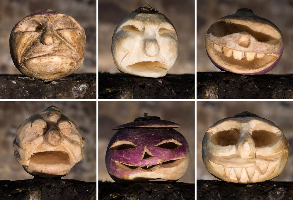 BRITAIN-HALLOWEEN-HISTORY-TURNIP-OFFBEAT