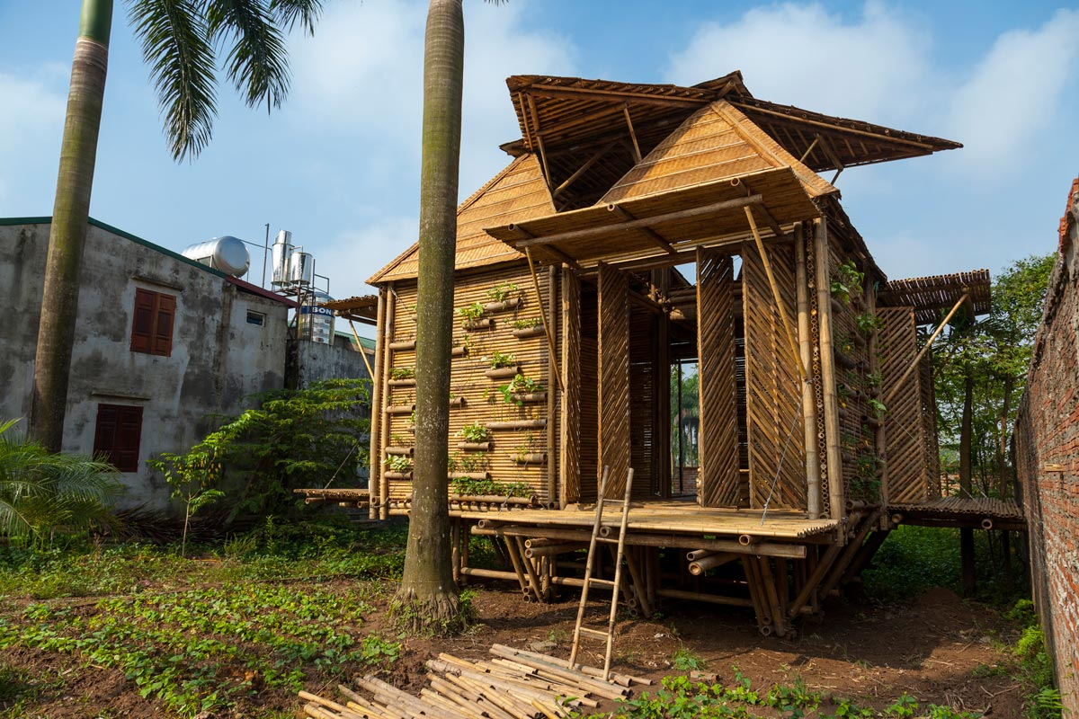 Blooming Bamboo Floating Home