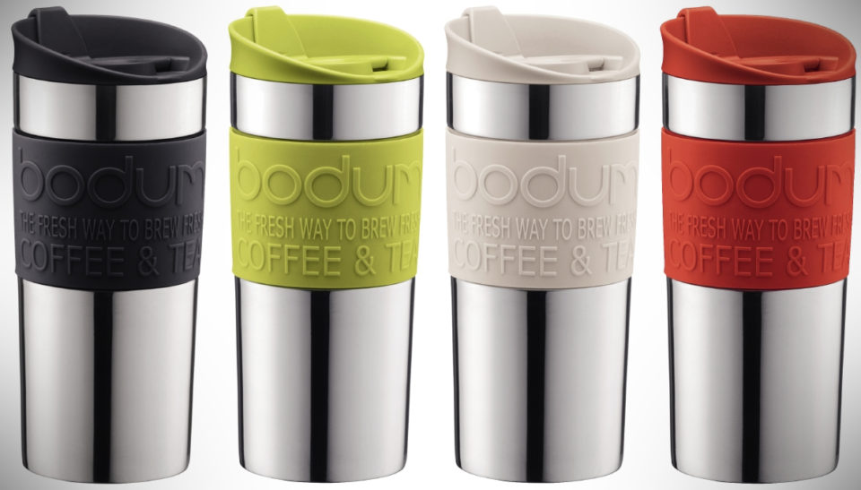 Bodum Insulated Stainless Steel Vacuum Travel Mug