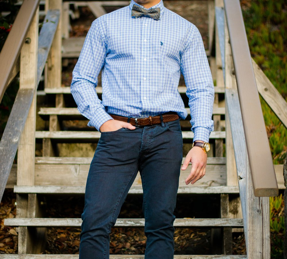 Button Up Shirt – dress shoes with jeans
