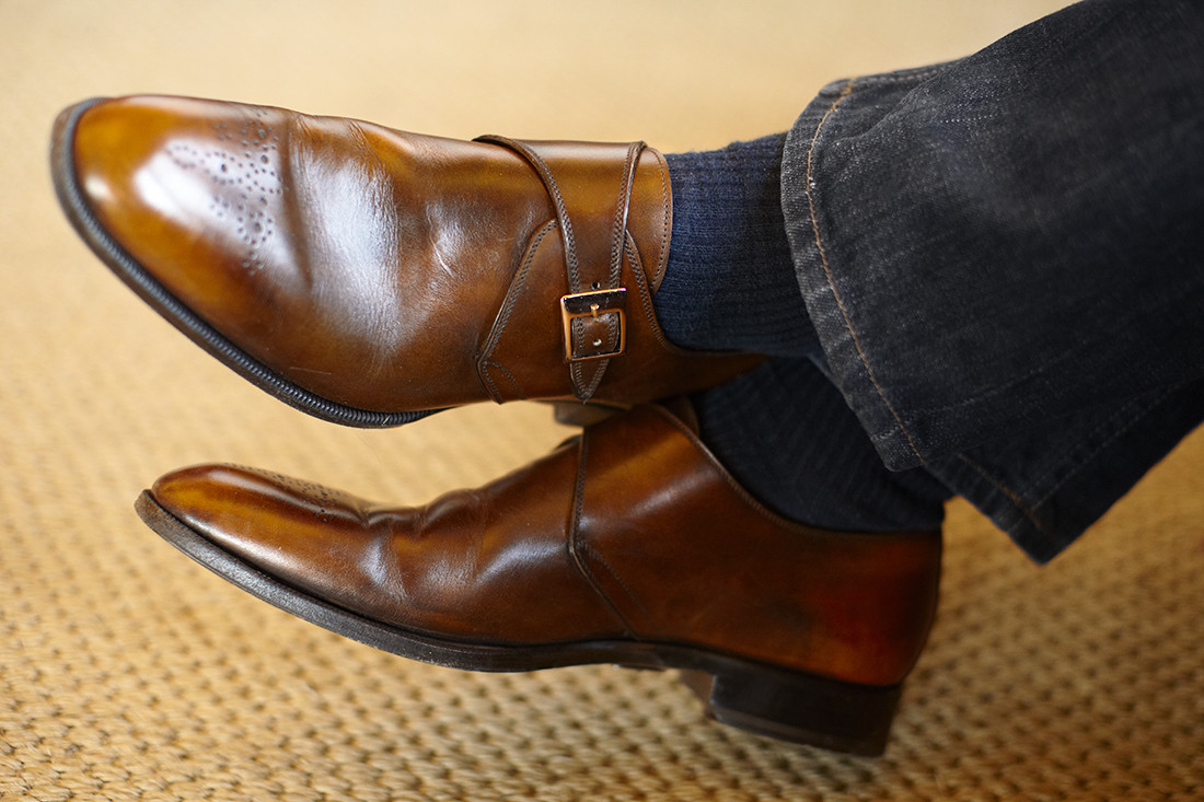 Contrasting Dress Shoes with Jeans