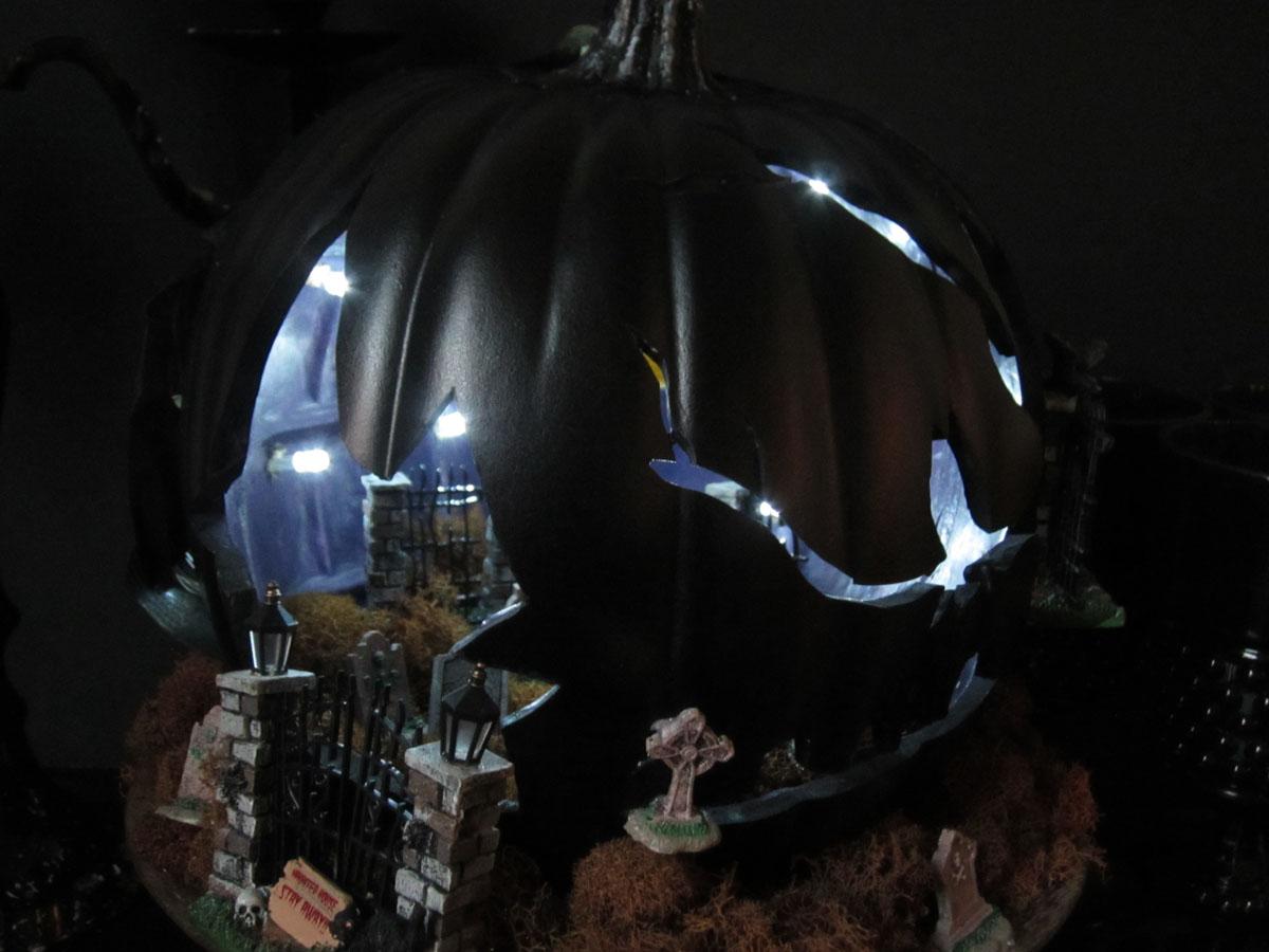 Diorama – pumpkin carving halloween