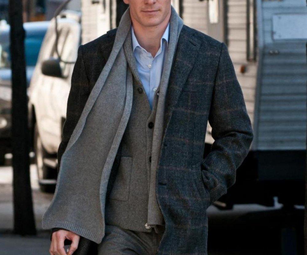 Drape – how to wear a scarf men