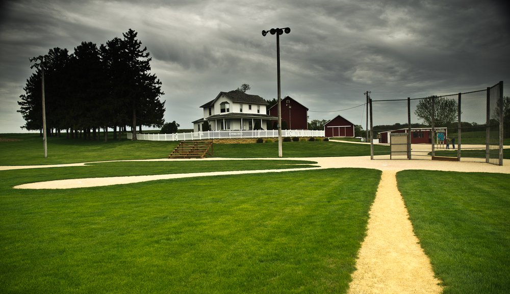 Dyersville Iowa Field of Dreams – tv and film travel destination